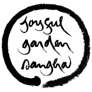 joyful garden sangha vertical with circle 300x300